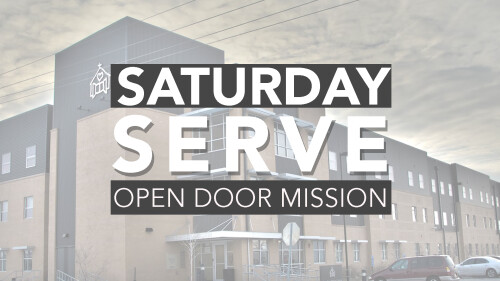 Saturday Serve ODM
