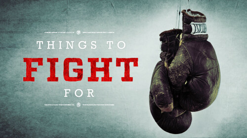 Things To Fight For
