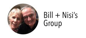 Photo of Bill & Nisi for their group