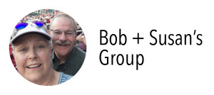 Photo of Bob & Susan for their group
