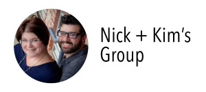 Photo of Nick & Kim for their group