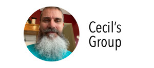 Photo of Cecil for his group