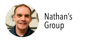 Photo of Nathan for his group